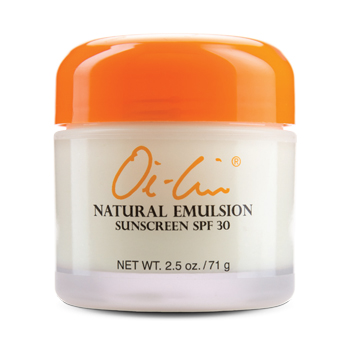 OI-LIN® NATURAL EMULSION SUNSCREEN SPF 30 2.5 oz./71 gr